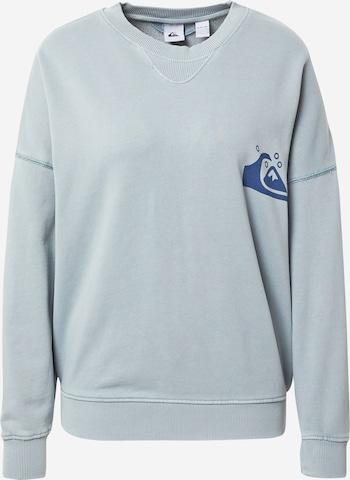 QUIKSILVER Sweatshirt 'OVERSIZED CREW' in Blau