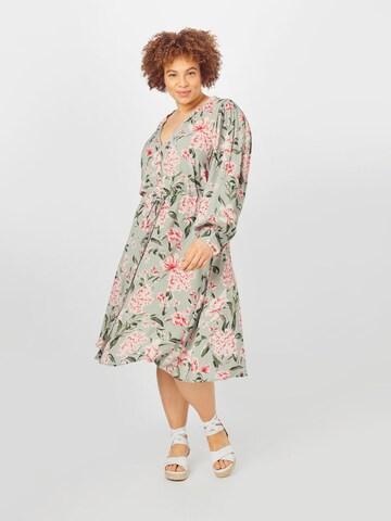 Rochie tip bluză 'JAYCE' de la Zizzi pe gri