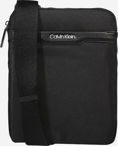 Calvin Klein Schoudertas 'FLAT PACK' in de kleur Zwart, Productweergave