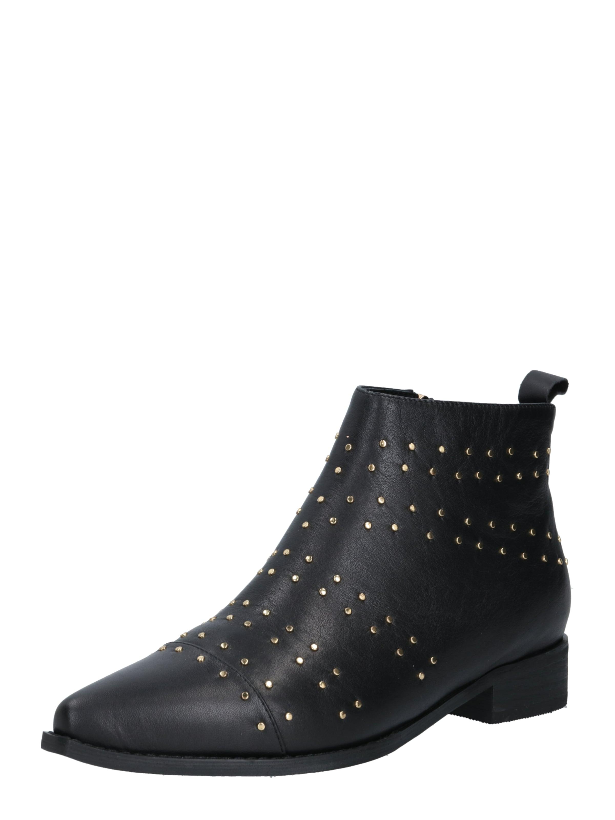 Shoe The Bear Stövlett i guld / svart