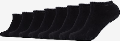 SKECHERS Sneakersocken New York im 8er-Pack in schwarz, Produktansicht
