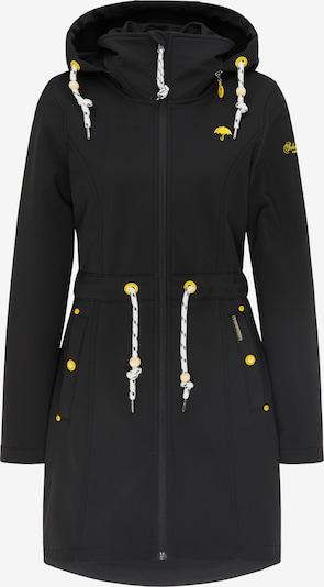 Schmuddelwedda Manteau fonctionnel en jaune / noir / blanc, Vue avec produit