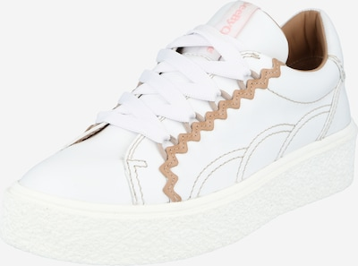 See by Chloé Baskets basses 'Sevy' en rose / blanc, Vue avec produit