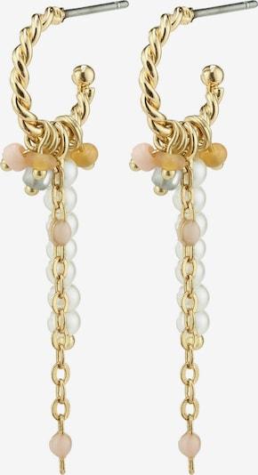 Pilgrim Boucles d'oreilles 'Nidia' en nude / or, Vue avec produit