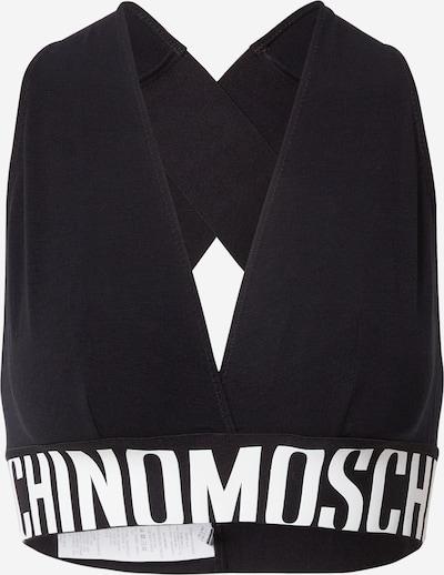 Reggiseno Moschino Underwear di colore nero / bianco, Visualizzazione prodotti