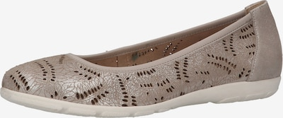 CAPRICE Ballet Flats in Silver, Item view