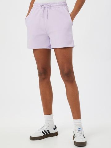 mbym Shorts 'Christalia' in Lila