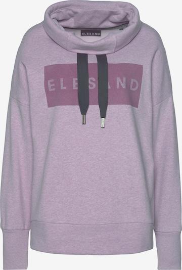LASCANA Sweatshirt 'Arndis ELB' in lavendel, Produktansicht