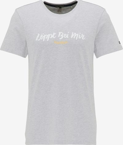 Schmuddelwedda T-Shirt in grau: Frontalansicht