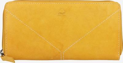 GREENBURRY Tumble Nappa Geldbörse Leder 20 cm in gelb, Produktansicht