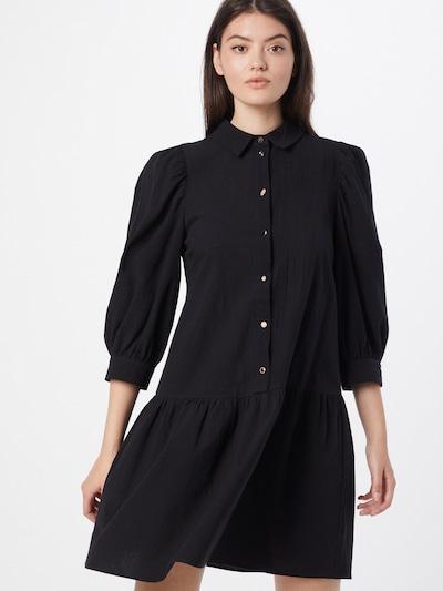 NÜMPH Kleid 'BUNNY' in schwarz, Modelansicht