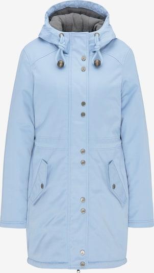 DreiMaster Klassik Winterparka in de kleur Lichtblauw, Productweergave