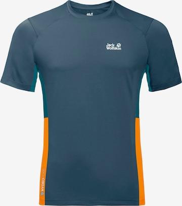JACK WOLFSKIN Funktionsshirt 'Narrows' in Blau