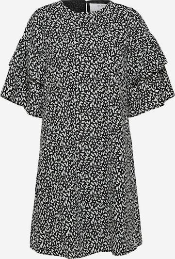 Vasarinė suknelė 'Carla' iš SELECTED FEMME , spalva - juoda / balta, Prekių apžvalga