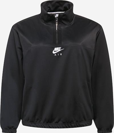 Nike Sportswear Sudadera en negro / blanco, Vista del producto