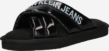 Pantoufle Calvin Klein Jeans en noir