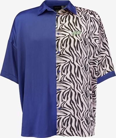 Magdeburg Los Angeles Shirt 'TIGER' in dunkelblau / schwarz / weiß, Produktansicht