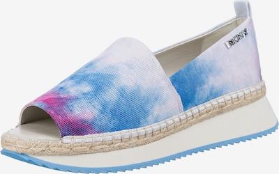 DKNY Espadrilles 'Orza' in aqua / fuchsia / weiß, Produktansicht