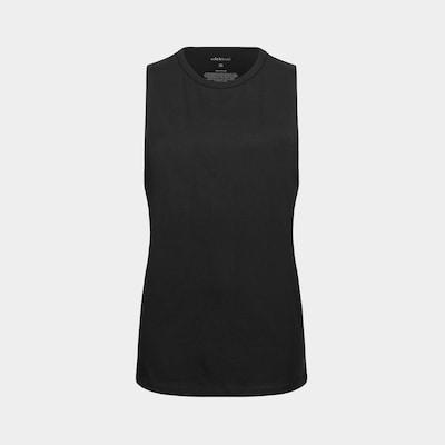 Erlich Textil Sport Tanktop ' Yuki ' in schwarz, Produktansicht