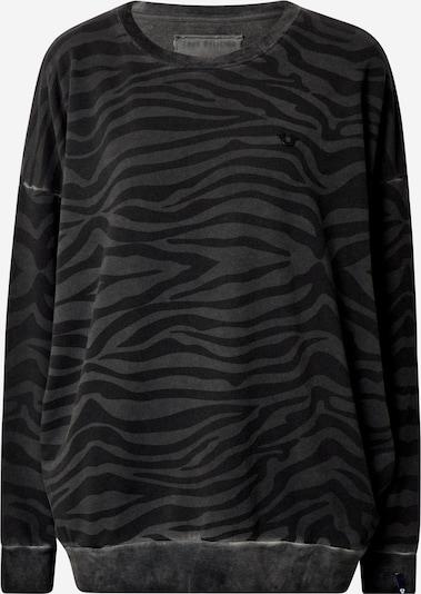 Megztinis be užsegimo 'BUDDHA' iš True Religion , spalva - pilka / juoda, Prekių apžvalga