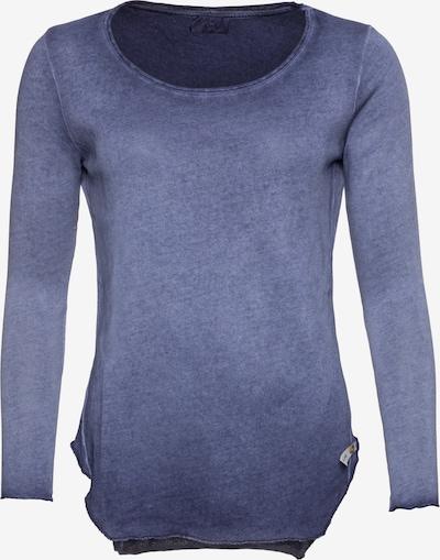 Cotton Candy Langarmshirt in blau, Produktansicht