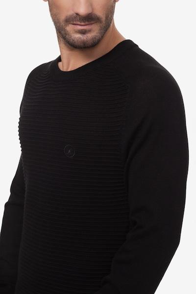 Kangol Trui 'BECKER' in de kleur Zwart, Productweergave