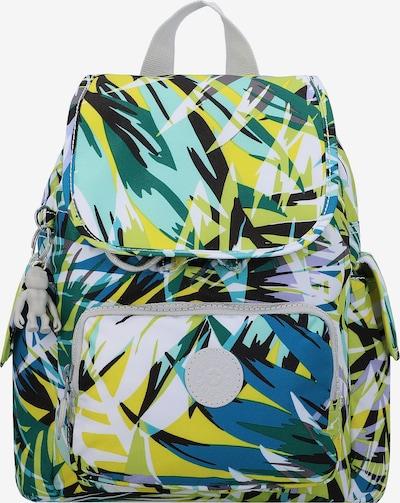 KIPLING Rucksack in blau / gelb / grün, Produktansicht