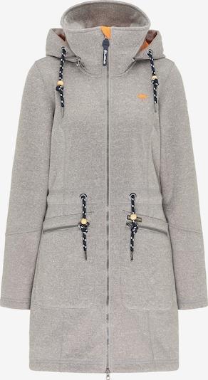 Schmuddelwedda Functionele mantel in de kleur Lichtgrijs / Sinaasappel / Zwart, Productweergave