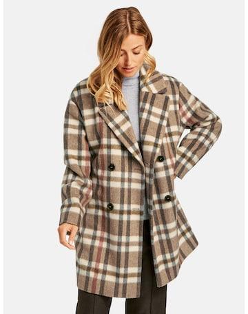 GERRY WEBER Between-Seasons Coat in Mixed colors