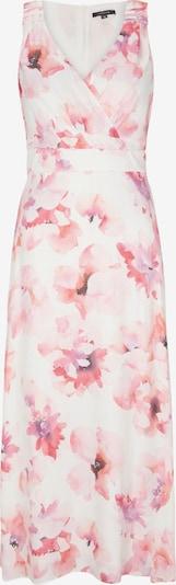 COMMA Robe en rose / rouge / blanc, Vue avec produit