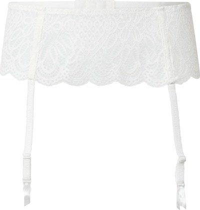 LingaDore Garters 'Snow White' in White, Item view