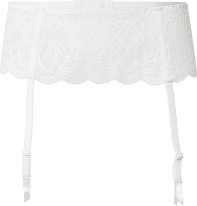 LingaDore Porte-jarretelles 'Snow White' en blanc, Vue avec produit