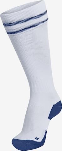 Hummel Sportsocken in Weiß