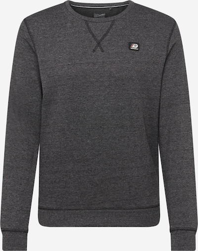 Petrol Industries Sweatshirt in de kleur Zwart gemêleerd, Productweergave