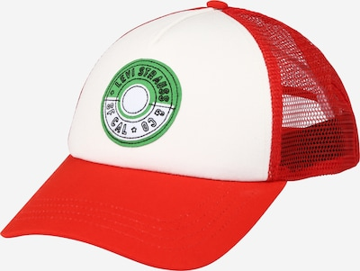Șapcă 'Pokemon Trucker Hat' LEVI'S pe roșu, Vizualizare produs
