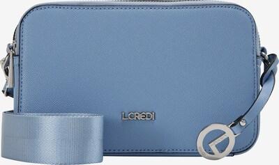 L.CREDI Umhängetasche 'Florentia' in blau / lavendel, Produktansicht