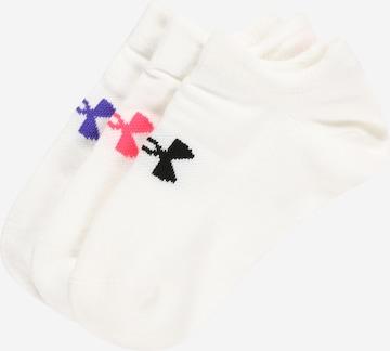 UNDER ARMOUR Spordisokid, värv valge