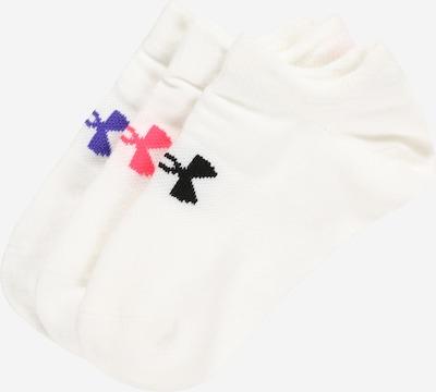 kék / rózsaszín / fekete / fehér UNDER ARMOUR Sportzoknik, Termék nézet