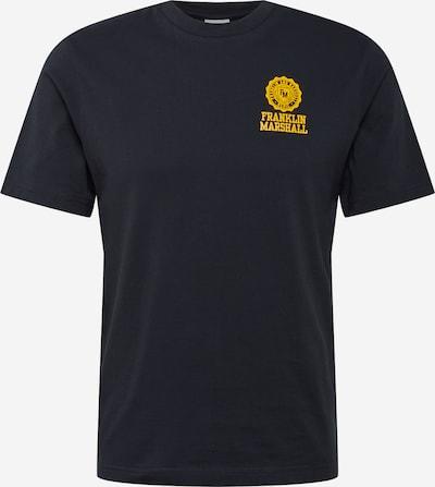 FRANKLIN & MARSHALL Shirt in de kleur Geel / Zwart, Productweergave