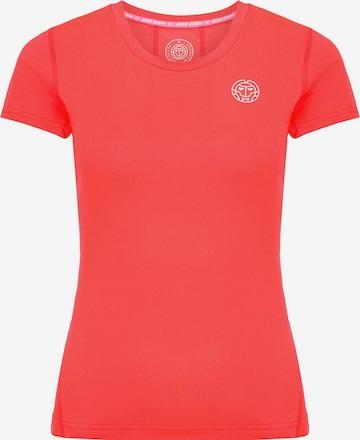 BIDI BADU T-Shirt 'Calla' in Rot