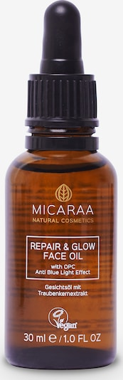 MICARAA Naturkosmetik Gesichtsöl Repair & Glow Anti-Blue Light Filter in braun, Produktansicht