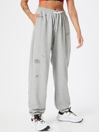 Nike Sportswear Nohavice 'Icon Clash' - sivá melírovaná, Model/-ka