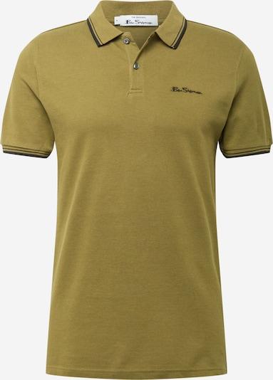 Ben Sherman T-Shirt en bleu nuit / olive, Vue avec produit
