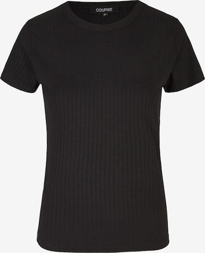 Course Shirt in schwarz, Produktansicht