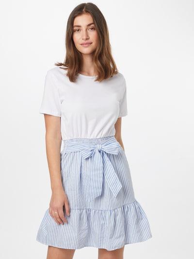 Trendyol Kleid in blau / weiß, Modelansicht