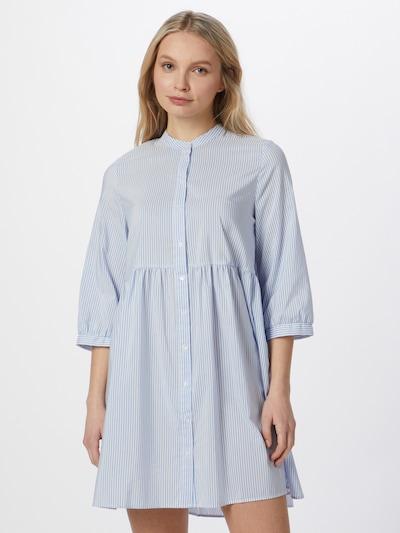 VERO MODA Kleid 'Sisi' in hellblau / weiß, Modelansicht