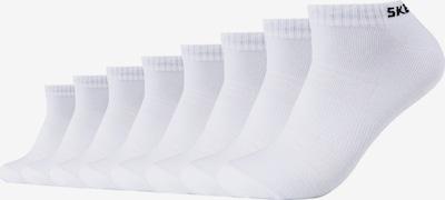 SKECHERS Sneakersocken San Diego im 8er Pack in weiß, Produktansicht