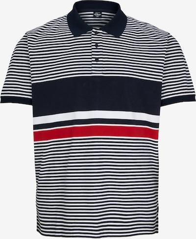 s.Oliver Men Big Sizes Poloshirt in blau / weiß, Produktansicht