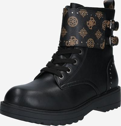 Suvarstomieji kulkšnis dengiantys batai 'WANDA' iš GUESS , spalva - ruda / juoda, Prekių apžvalga