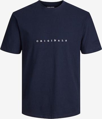 JACK & JONES Skjorte 'Copenhagen' i blå
